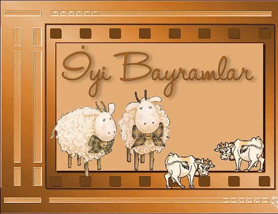 Красивые картинки поздравления с Курбан – Байрамом 2020