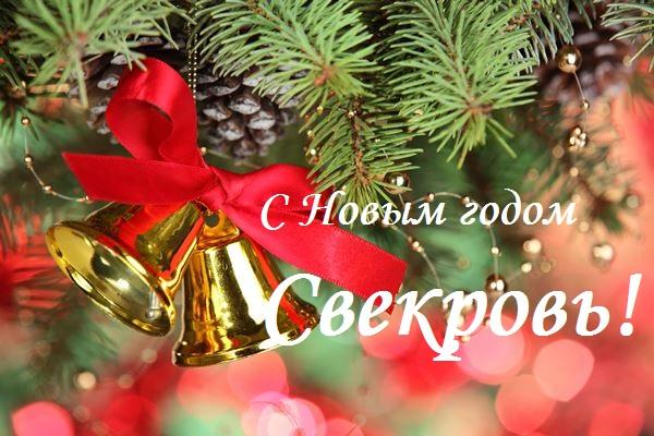 поздравления с новым годом свекрови в стихах