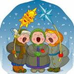 Забавные колядки для детей 🎄 на Рождество 2020