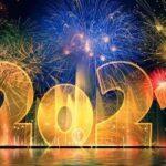 Корпоративные картинки с Новым годом 2021 коллегам (на год Быка)