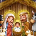 СМС поздравления с Рождеством Христовым 2020 (короткие)