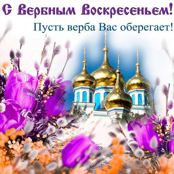 Поздравления с Вербным воскресеньем в стихах (красивые)